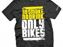 Футболка No smoke No drink Only bikes