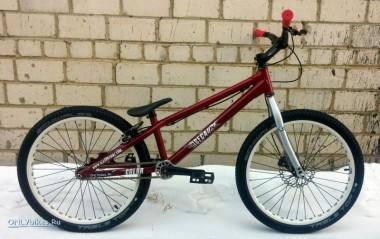 Велосипед Because 24 Color Street_custom